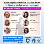 Presentación Programa: LiderAR Mujer en el Deporte