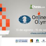 Finalizo la participación de la selección en la olimpiada de ajedrez online
