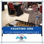 Faustino Oro nuevo numero 1 del mundo sub 8